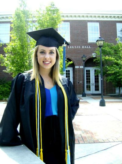 Claire Dillard Graduation