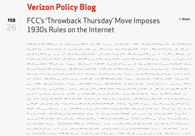 Verizon v FCC