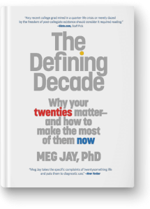 Photo of book The Defining Decade: Why your twenties matter - and how to make the most of them now